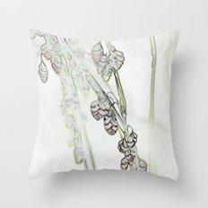 Trembling Grass Throw Pillow