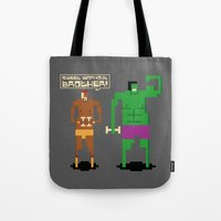 workout Tote Bags featuring Sweet Workout by Hoborobo