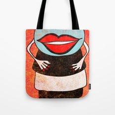 Miss One Eye Tote Bag