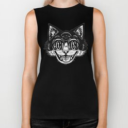 The Creative Cat Biker Tank