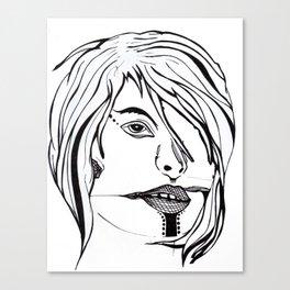 mssng eyes Canvas Print