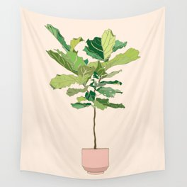 Fiddle Leaf Fig Wall Tapestry