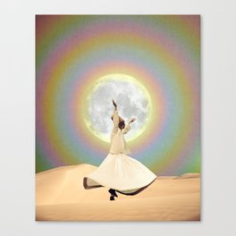 Whirling Dervish Canvas Print