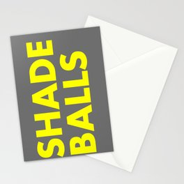 SHADE BALLS Stationery Cards