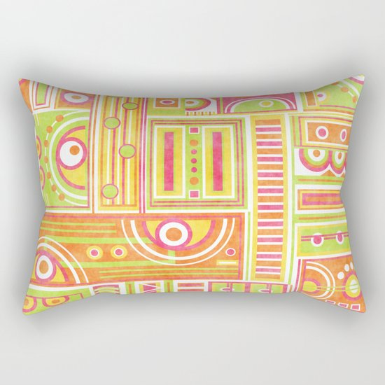 Instrumental Rectangular Pillow