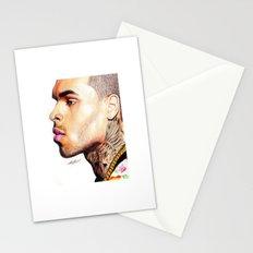 Breezy Chris Portrait Stationery Cards