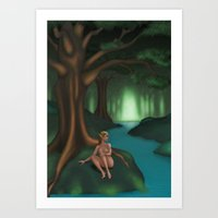 elf Art Prints featuring Elf by Egberto Fuentes