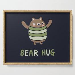 Bear Hug Serving Tray