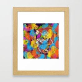 LVX. Framed Art Print