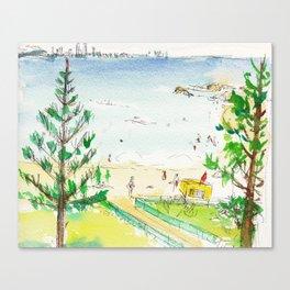 Rainbow Bay, Qld. Australia Canvas Print