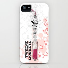Twelve Monkeys iPhone Case