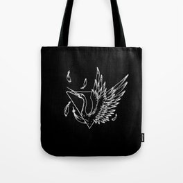 Geometric Crane Tote Bag
