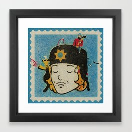 Marge Framed Art Print