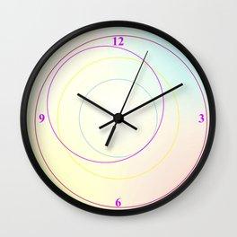 A Crop of Circles Wall Clock