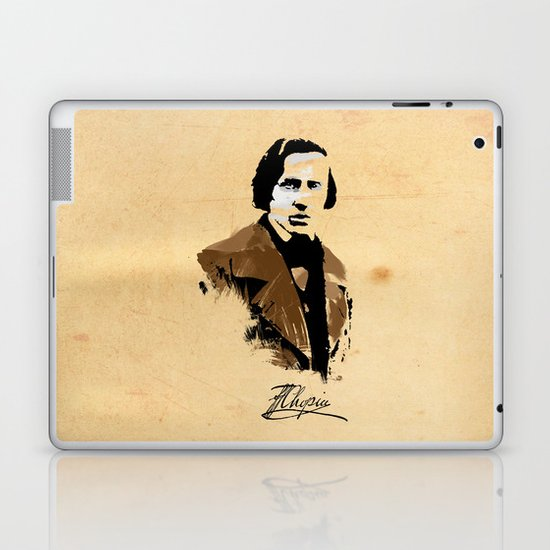 Frederic Chopin - Polish Composer, Pianist Laptop & iPad Skin
