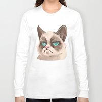 grumpy Long Sleeve T-shirts featuring Grumpy by Corelle_Vairel