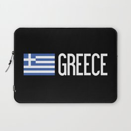 Greece: Greek Flag & Greece Laptop Sleeve