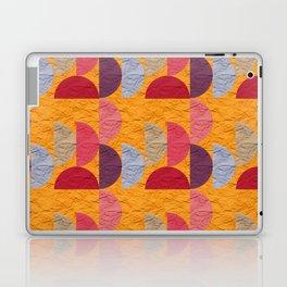 Pattern orange red rose 2 Laptop & iPad Skin