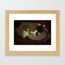 Narcisism Framed Art Print