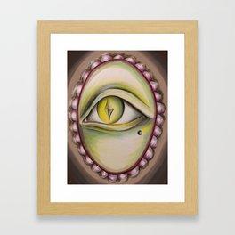 Ghouly Framed Art Print