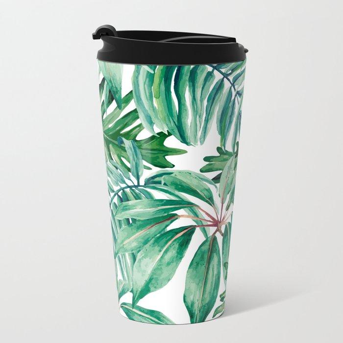 Tropical jungle Travel Mug