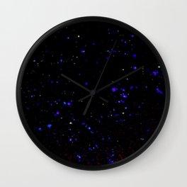Light constellation Wall Clock