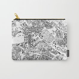 Berlin Map Schwarzplan Only Buildings Carry-All Pouch