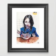 Chuthlu vibes  Framed Art Print