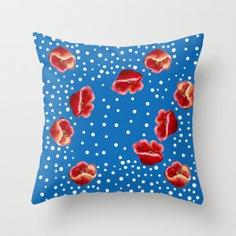 Multiple Poppies Throw Pillow