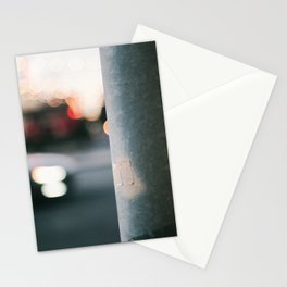 Light Post II Stationery Cards