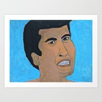 ali gulec Art Prints featuring Ali by RZOboutique