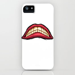 grin iPhone Case