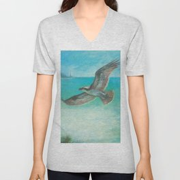 Belle's Journey: Island Hopping Unisex V-Neck