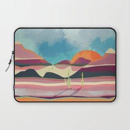 Pink Desert Glow Laptop Sleeve