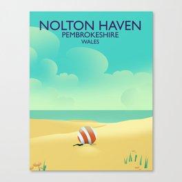 Nolton Haven Pembrokeshire Wales Canvas Print