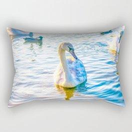 Young Cygnet Swan Rectangular Pillow