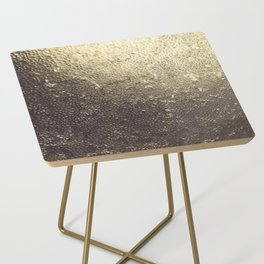 Gold Honey Side Table