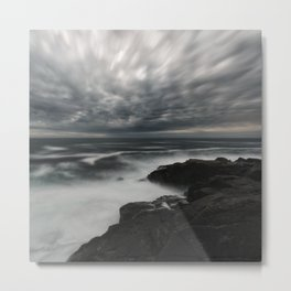 Storming Moonlight Metal Print