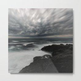 Storming Moonlight Metal Print
