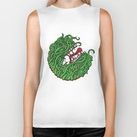 "teeth Biker Tanks featuring ""Teeth"" by Daniel Gestri"