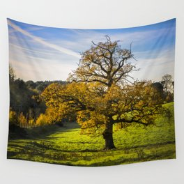 Autumnal Tree. Wall Tapestry
