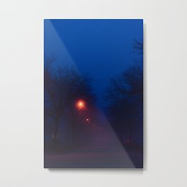 Foggy Nights (2) Metal Print