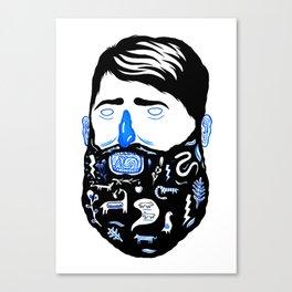 Animal Beard Canvas Print
