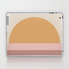 Minimal Retro Sunset - Neutral Laptop & iPad Skin