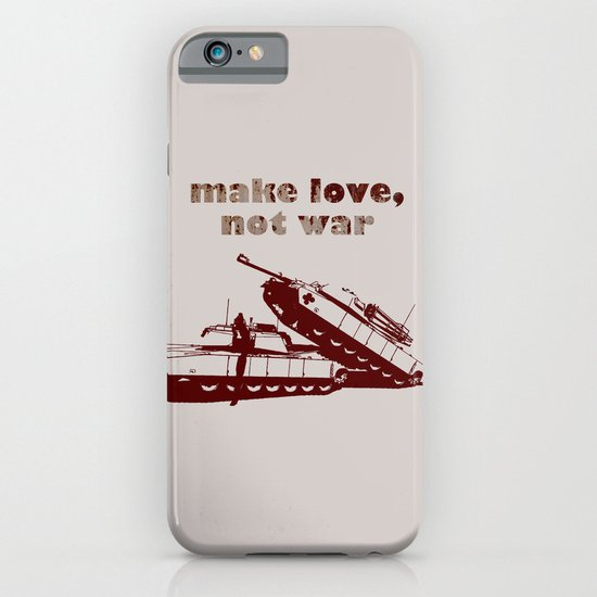 Make love, not war! iPhone & iPod Case