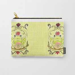 Frog Prince Carry-All Pouch