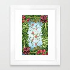 P L A N T S Framed Art Print