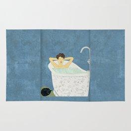 Bathtub Scene Rug