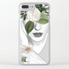 Natural beauty 2a Clear iPhone Case