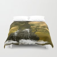 rocks Duvet Covers featuring Rocks by nicky2342